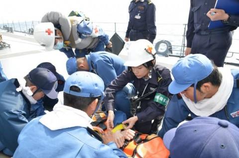 平成27年度外洋練習航海10【海上自衛隊一般幹部候補生課程(部内)】No04