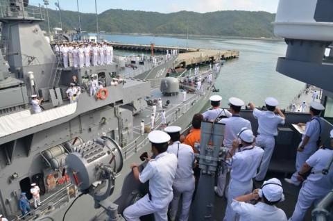 平成27年度外洋練習航海(部内)2