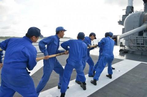 平成27年度外洋練習航海9【海上自衛隊一般幹部候補生課程(部内)】07