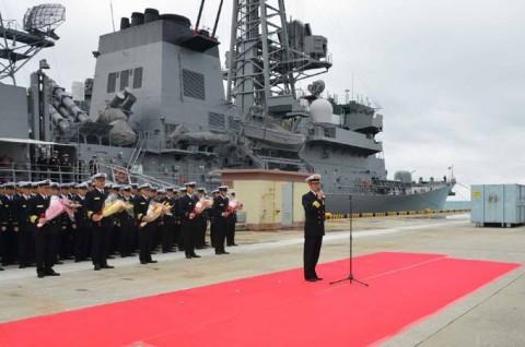 平成27年度外洋練習航海9【海上自衛隊一般幹部候補生課程(部内)】10