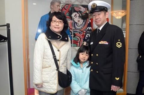 護衛艦「ゆうだち」出国行事07