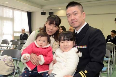 護衛艦「ゆうだち」出国行事09