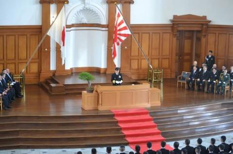 海上自衛隊 幹部候補生学校 卒業式[平成28年] facebook2