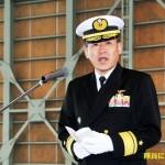 第2航空群司令 小峯海将補 着任[八戸航空基地 facebook]