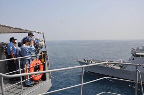 米国主催第4回国際掃海訓練 海上自衛隊facebook1