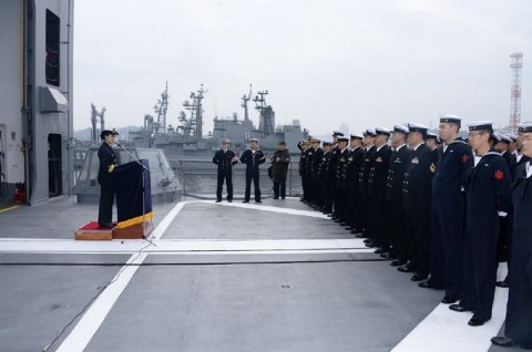 海上自衛隊の護衛艦に初の女性艦長就任3