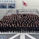 近海練習航海(練習艦隊)の記録 大阪寄港
