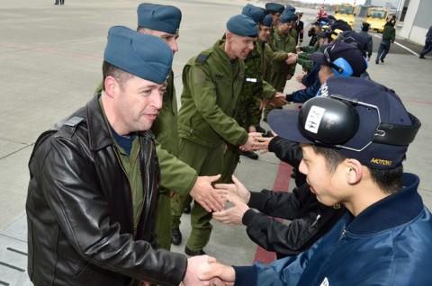日米加共同訓練に参加のためカナダ空軍が八戸航空基地に来訪7