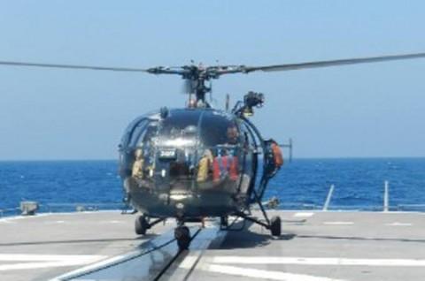 日フランス親善訓練 第23次海賊対処行動水上部隊「すずなみ」5
