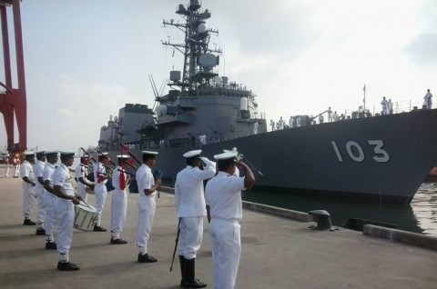 日スリランカ親善訓練 護衛艦「ゆうだち」・「ゆうぎり」隊員の記録1