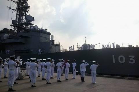 日スリランカ親善訓練 護衛艦「ゆうだち」・「ゆうぎり」隊員の記録2
