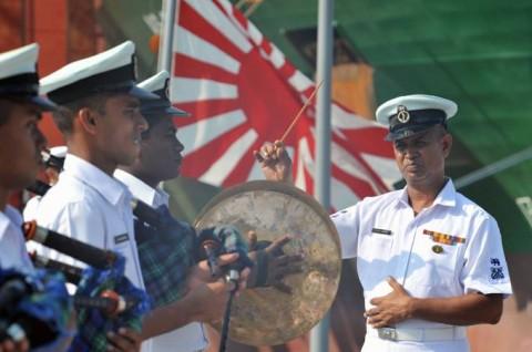 日スリランカ親善訓練 護衛艦「ゆうだち」・「ゆうぎり」隊員の記録3