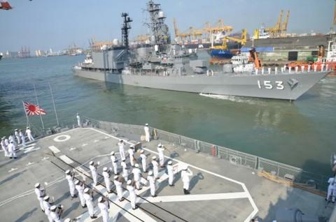 日スリランカ親善訓練 護衛艦「ゆうだち」・「ゆうぎり」隊員の記録4