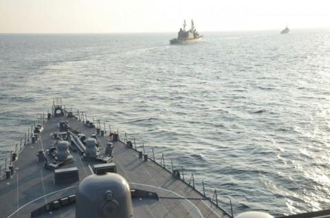 日スリランカ親善訓練 護衛艦「ゆうだち」・「ゆうぎり」隊員の記録6