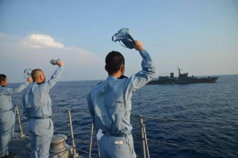 日スリランカ親善訓練 護衛艦「ゆうだち」・「ゆうぎり」隊員の記録7