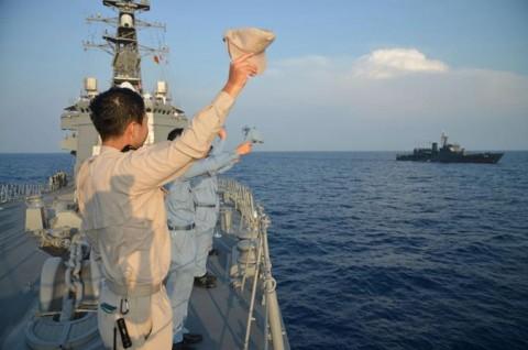 日スリランカ親善訓練 護衛艦「ゆうだち」・「ゆうぎり」隊員の記録8