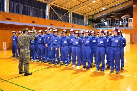 大学生等スプリングツアー 海上自衛隊 横須賀教育隊(神奈川県)等2