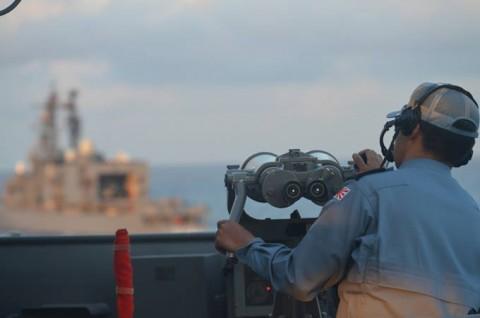 派遣海賊対処行動水上部隊(24次隊) 護衛艦「ゆうだち」・「ゆうぎり」隊員の記録01