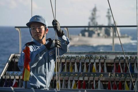 派遣海賊対処行動水上部隊(24次隊) 護衛艦「ゆうだち」・「ゆうぎり」隊員の記録03