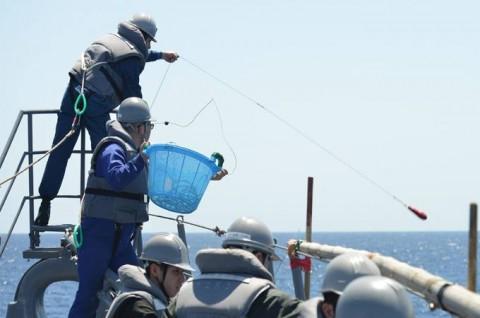派遣海賊対処行動水上部隊(24次隊) 護衛艦「ゆうだち」・「ゆうぎり」隊員の記録05