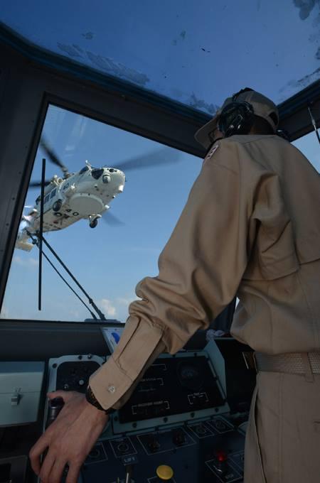派遣海賊対処行動水上部隊(24次隊) 護衛艦「ゆうだち」・「ゆうぎり」隊員の記録06