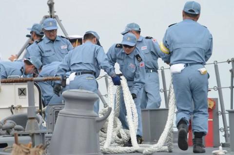 派遣海賊対処行動水上部隊(24次隊) 護衛艦「ゆうだち」・「ゆうぎり」隊員の記録08