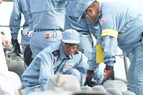 派遣海賊対処行動水上部隊(24次隊) 護衛艦「ゆうだち」・「ゆうぎり」隊員の記録09
