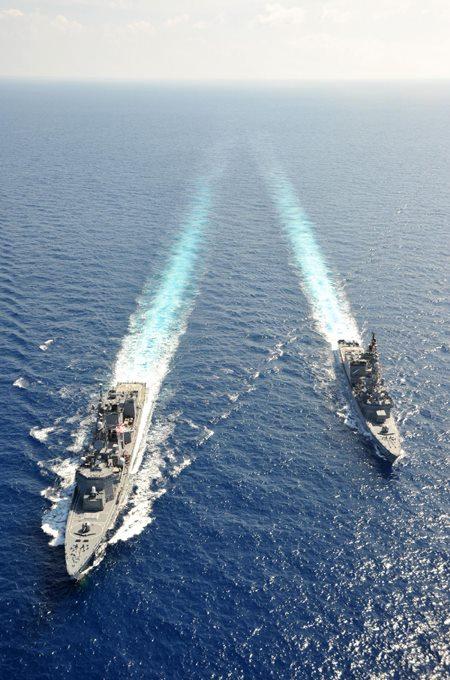 派遣海賊対処行動水上部隊(24次隊) 護衛艦「ゆうだち」・「ゆうぎり」隊員の記録13