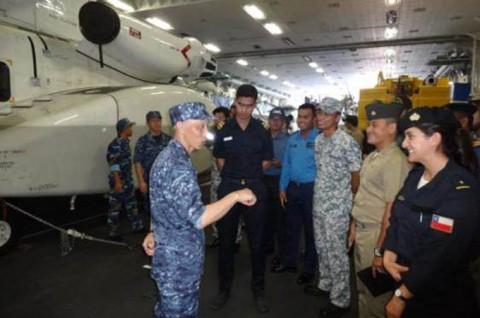西太平洋海軍シンポジウム2016(WPNS2016) 護衛艦いせNo2