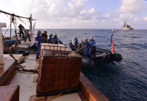 海難救助・急患搬送 派遣海賊対処行動水上部隊(第23次)4