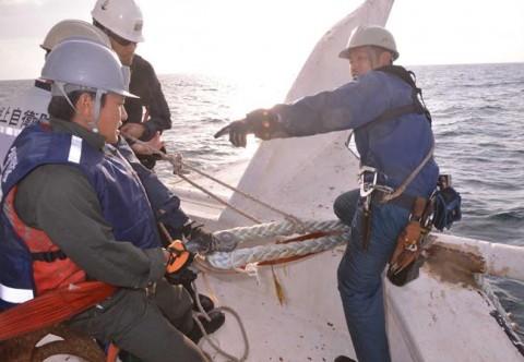 海難救助・急患搬送 派遣海賊対処行動水上部隊(第23次)5