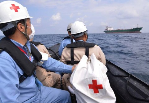 海難救助・急患搬送 派遣海賊対処行動水上部隊(第23次)7