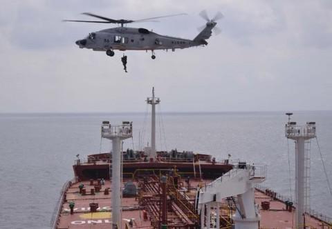 海難救助・急患搬送 派遣海賊対処行動水上部隊(第23次)8