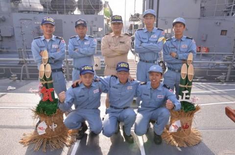 派遣海賊対処行動水上部隊(第23次)すずなみ・まきなみ」 12月4