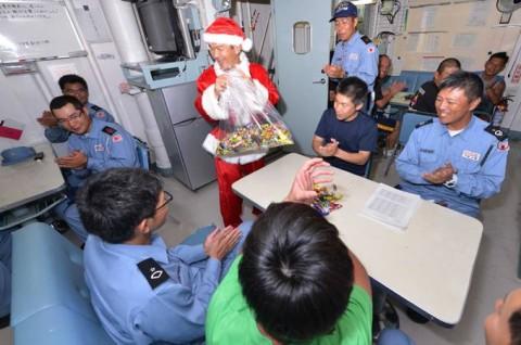 派遣海賊対処行動水上部隊(第23次)すずなみ・まきなみ」 12月5