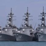 派遣海賊対処行動水上部隊(23次隊) 「まきなみ」、「すずなみ」隊員の記録 引継