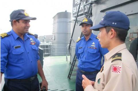派遣海賊対処行動水上部隊(23次隊) ソマリア 海賊対処 防衛省3