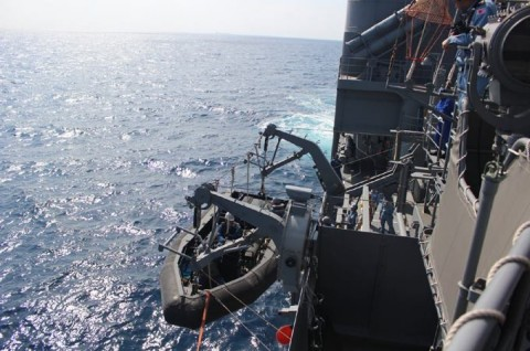 派遣海賊対処行動水上部隊(24次隊) 護衛艦「ゆうだち」・「ゆうぎり」隊員の記録32