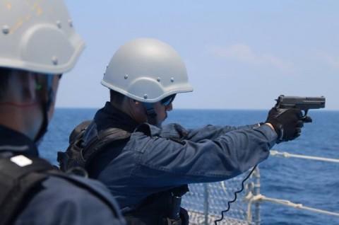 派遣海賊対処行動水上部隊(24次隊) 護衛艦「ゆうだち」・「ゆうぎり」隊員の記録33