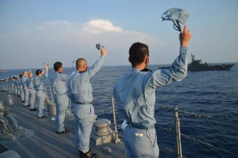 派遣海賊対処行動水上部隊(24次隊) 護衛艦「ゆうだち」・「ゆうぎり」隊員の記録403