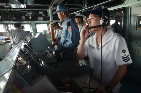 派遣海賊対処行動水上部隊(24次隊) 護衛艦「ゆうだち」・「ゆうぎり」隊員の記録404
