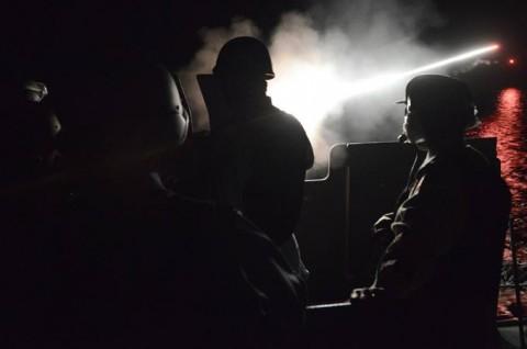 派遣海賊対処行動水上部隊(24次隊) 護衛艦「ゆうだち」・「ゆうぎり」隊員の記録410