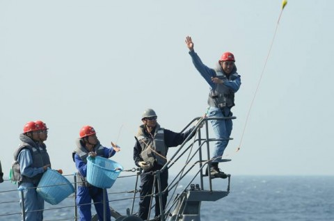 派遣海賊対処行動水上部隊(24次隊) 護衛艦「ゆうだち」・「ゆうぎり」隊員の記録412