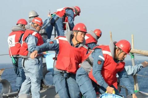 派遣海賊対処行動水上部隊(24次隊) 護衛艦「ゆうだち」・「ゆうぎり」隊員の記録413