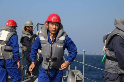 派遣海賊対処行動水上部隊(24次隊) 護衛艦「ゆうだち」・「ゆうぎり」隊員の記録415
