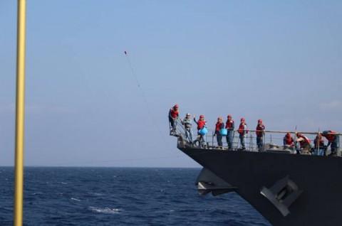 派遣海賊対処行動水上部隊(24次隊) 護衛艦「ゆうだち」・「ゆうぎり」隊員の記録416