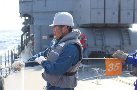 派遣海賊対処行動水上部隊(24次隊) 護衛艦「ゆうだち」・「ゆうぎり」隊員の記録417