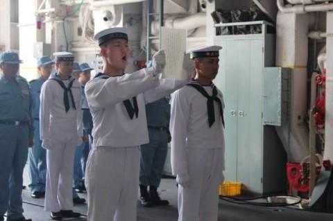 派遣海賊対処行動水上部隊(24次隊) 護衛艦「ゆうだち」・「ゆうぎり」隊員の記録418