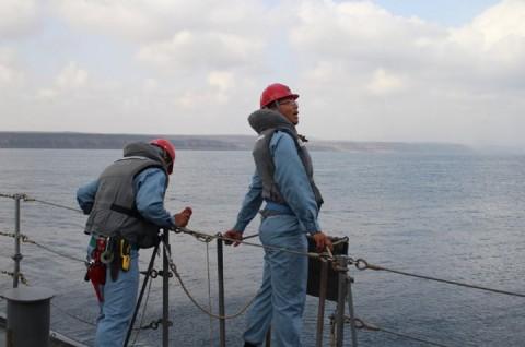 派遣海賊対処行動水上部隊(24次隊) 護衛艦「ゆうだち」・「ゆうぎり」隊員の記録419