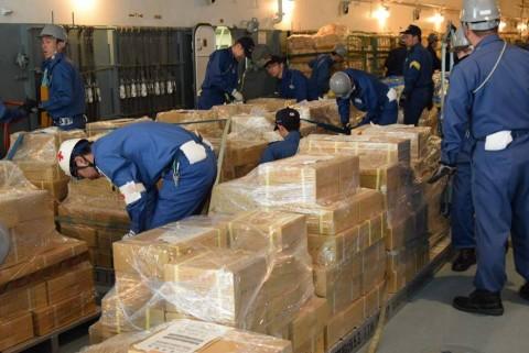 熊本県益城町で発生した地震への災害派遣 防衛省海上自衛隊No2